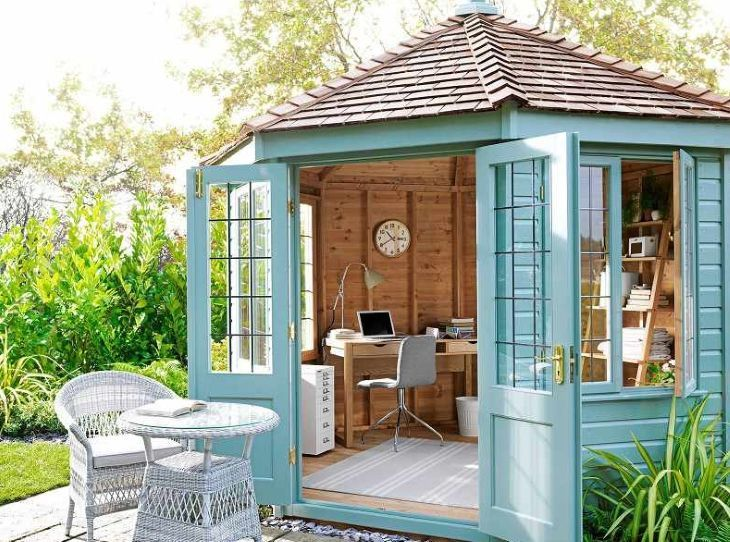 25 best shed office ideas on pinterest backyard office backyard studio and outdoor office. Black Bedroom Furniture Sets. Home Design Ideas
