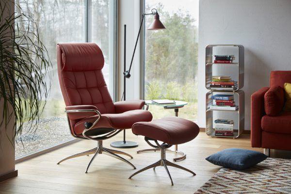 London fauteuil hoge rug