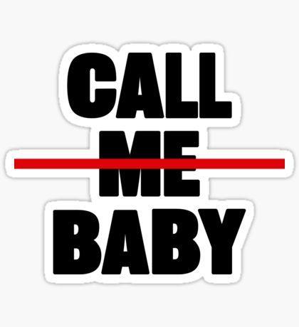Exo call me baby sticker