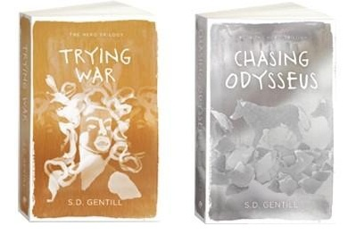 Give away day 14 - Chasing Odysseus and Trying War by S D Gentill. Thanks to Pantera Press.