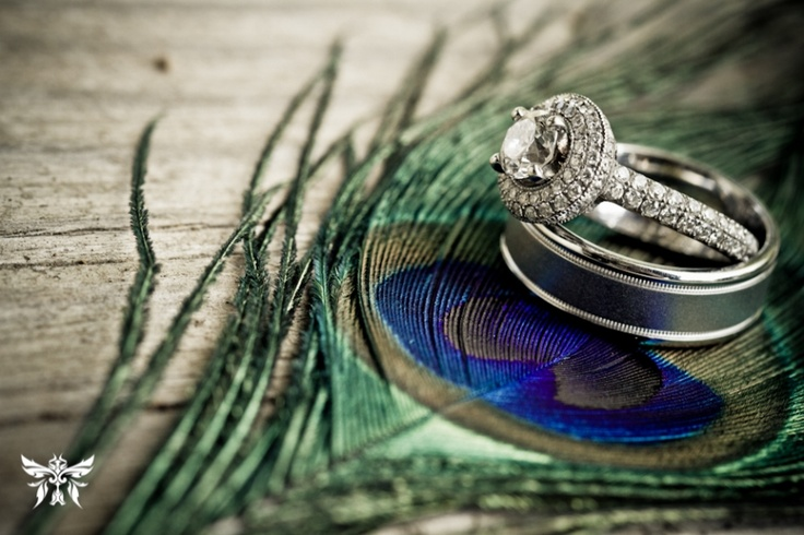So need to create this shot with mine & hubby's rings!