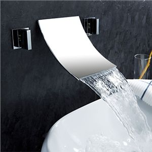 Waterfall Widespread Contemporary Bathroom Sink Faucet (Chrome Finish) - See more at: http://www.homelava.com/en-waterfall-widespread-contemporary-bathroom-sink-faucet-chrome-finish-p19207.htm#sthash.v2BALvoE.dpuf