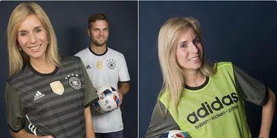 Nueva Adidas segunda camiseta seleccion Alemania eurocopa 2016