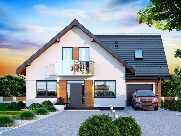 DOM.PL™ - Projekt domu DN GALILEA BIS CE - DOM PC1-65 - gotowy projekt domu  http://pracownia-projekty.dom.pl/dn_galilea_bis_ce.htm
