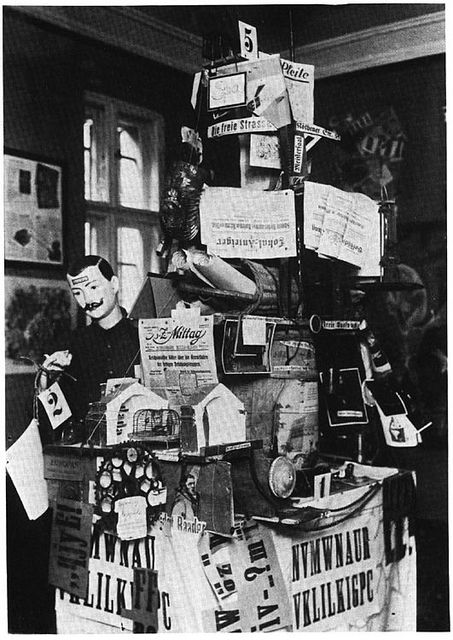 Johannes Baader, Germany's Greatness and Decadence, First Dada-Exhibition, Berlin 1920
