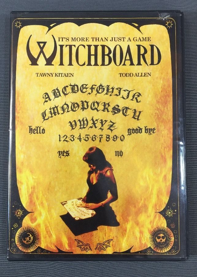 Witchboard DVD Todd Allen, Tawny Kitaen, Clare Bristol, Burke Byrnes, Ryan Carr