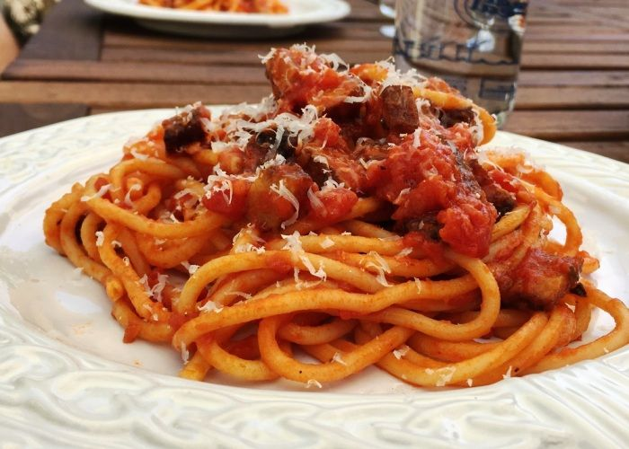 Spaghetti al rancetto--Umbria