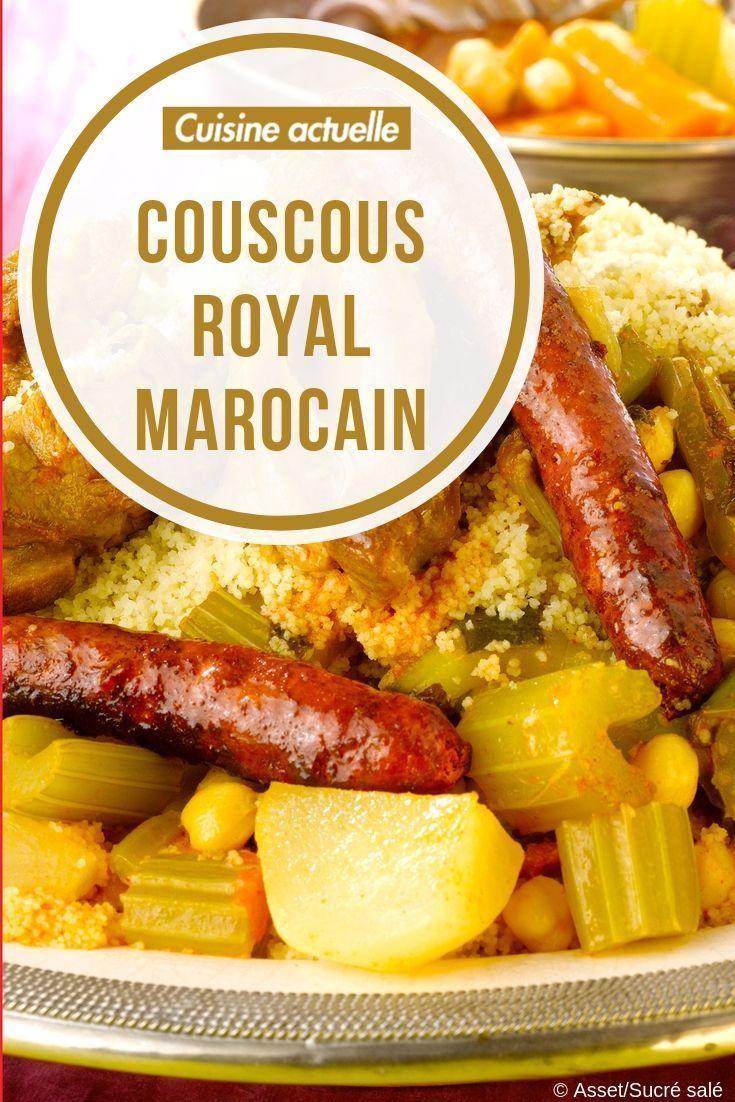 Koniglicher Marokkanischer Couscous Recettes De Cuisine Cuisine