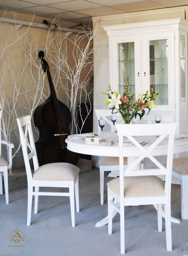 39 mejores im genes sobre tapizados shabby chic en pinterest for Comedor shabby chic