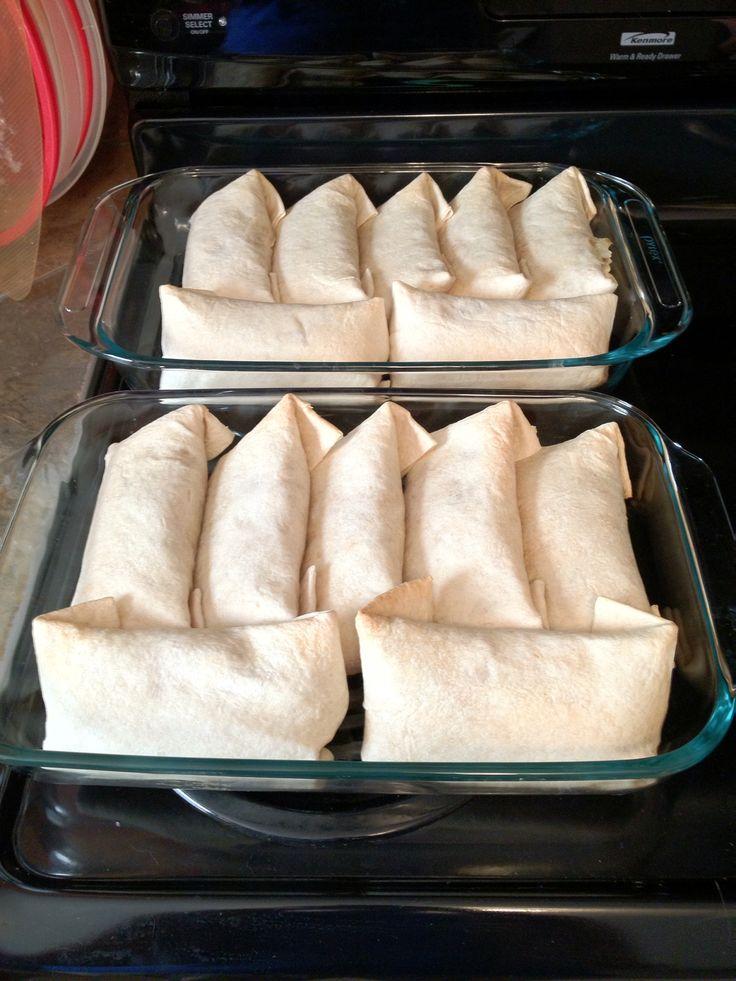 how to make tasty burritos under 500 calories each