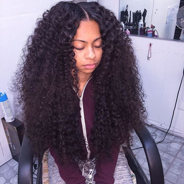 Weave that looks like natural curly hair
