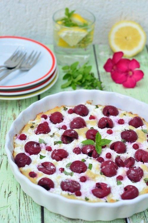 Totus, bogyós gyümölcsös piskóta recept
