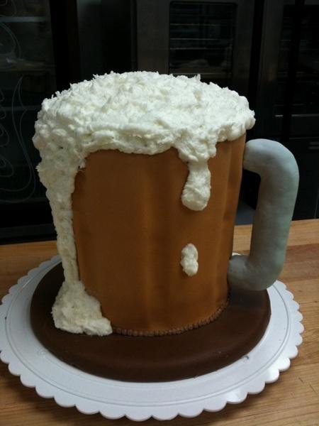 Birthday Cake-beer mug