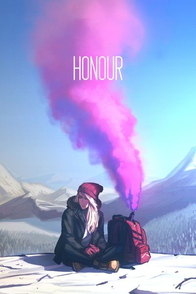 Honour [W] Art Print by Caleb Thomas