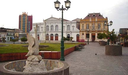 Plaza de Armas. Coleccion de Fotos de Iquique Chile
