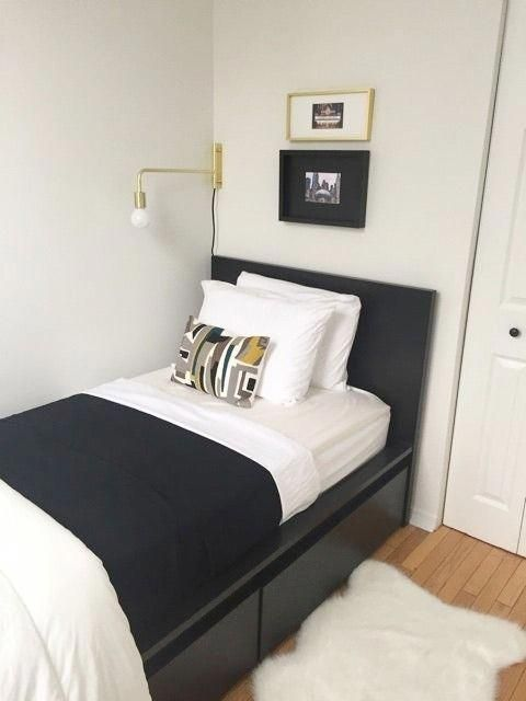 IKEA Malm twin bed (with drawers) and mattress | For the ...