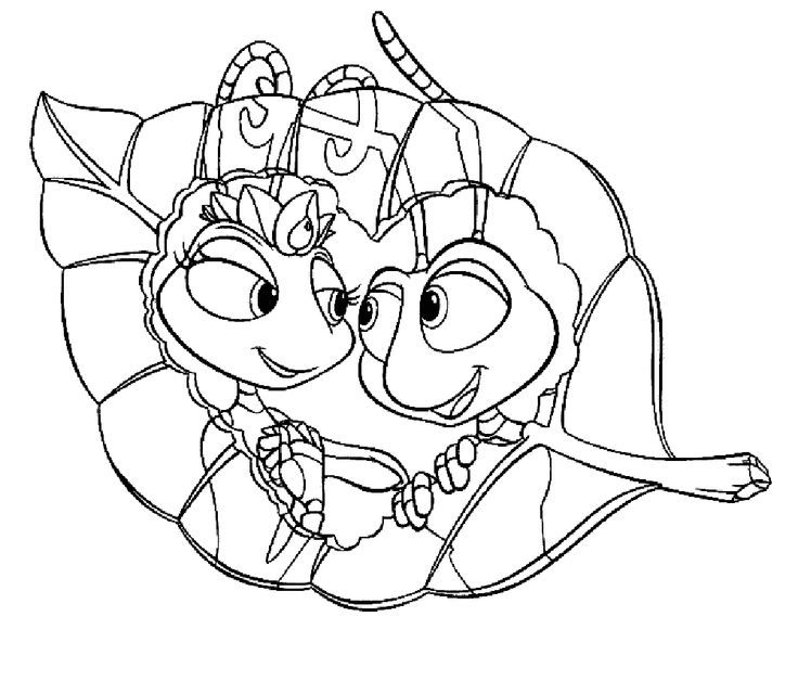 22 best a bugs life coloring pages images on Pinterest A bugs