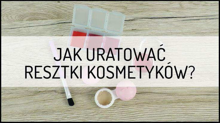 Jak uratować resztki kosmetyków? | Poradnik DIY: Domodi TV