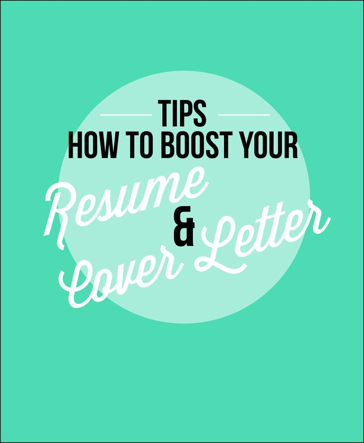 Best ResumeCover Letter Inspiration Images On