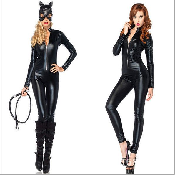women halloween fancy dress anime catwoman costume adult sexy cat gothic cosplay new dress - Best Halloween Costume Ideas For Women
