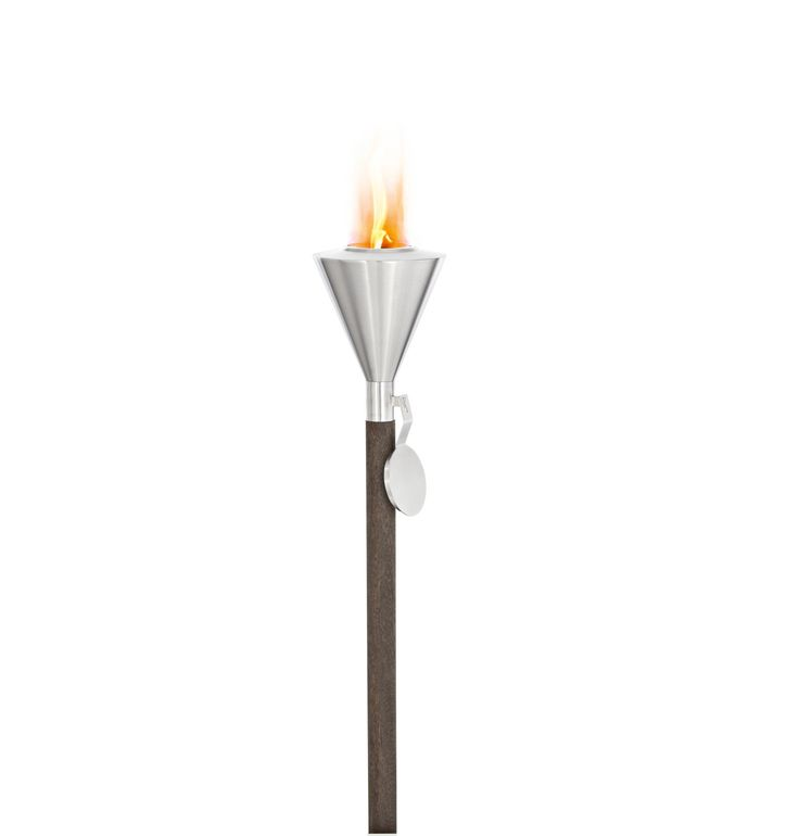 Stainless Steel Outdoor Garden Torch - Gel Burning – blomus