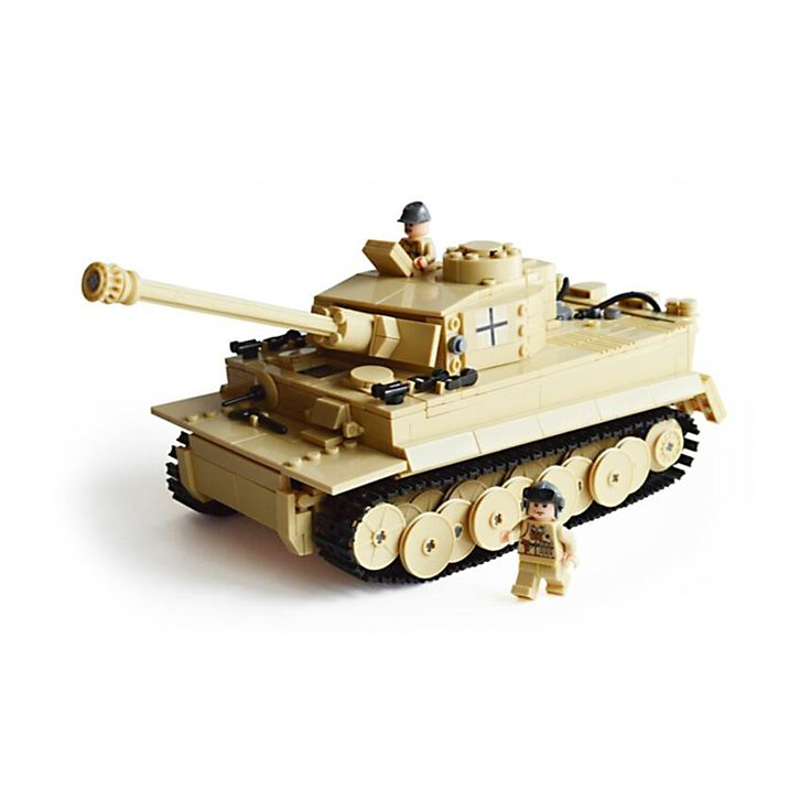 47.59$  Buy here - http://ali42l.worldwells.pw/go.php?t=32742652736 - JOY MAGS KAZI 82011 Toy Building Blocks Minifigures Gift for Kids German Armored Tiger Century World War II Military Vehicles 47.59$