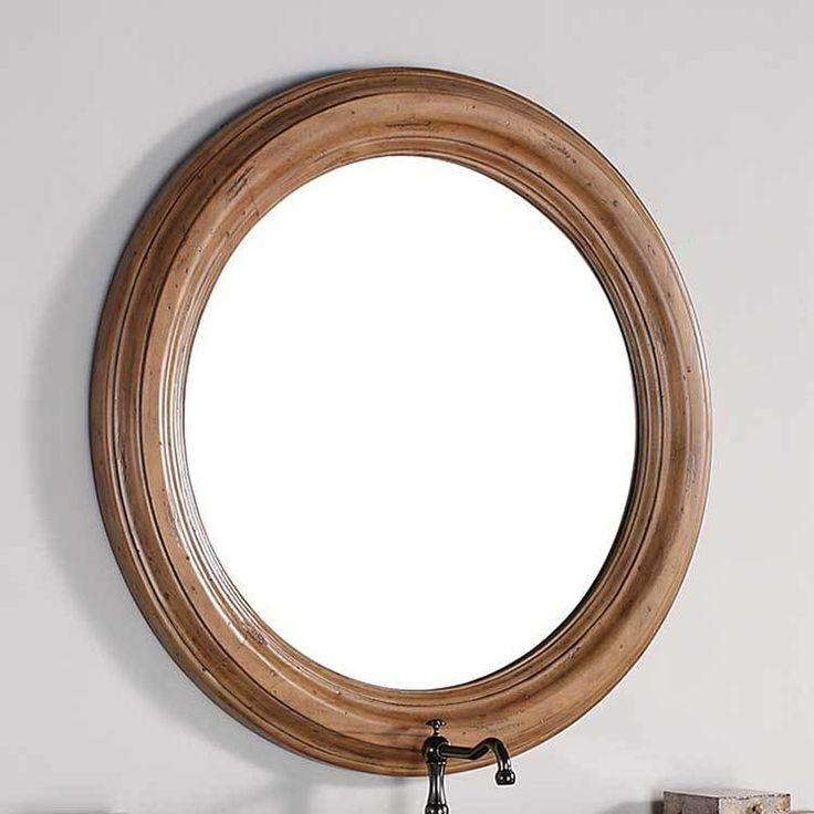 Malibu 40 Mirror Round Bathroom