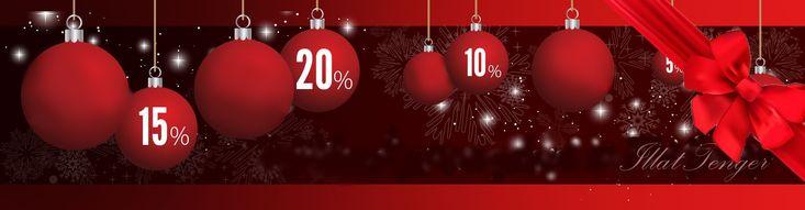 Különleges karácsonyi ajánlatokkal és kihagyhatatlan kedvezményekkel várunk Titeket!  https://webaruhaz.illattenger.hu/akciosok-313