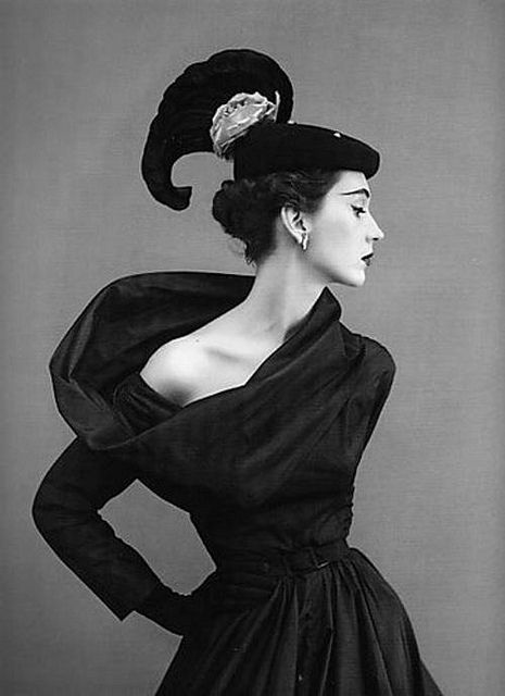 Dovima in Balenciaga; photo by Richard Avedon  Please!  and Thank you!..................S.L.