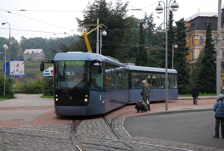 New Tram EVO2 from Pragoimex in Liberec (CZ)
