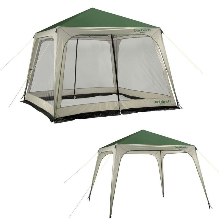 Outdoor Screen House Tent Camping Canopy Gazebo Awning Party Shelter 12x12 New