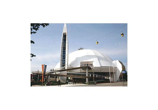 #Hannover 2000, #Worldsfair - Umanità, Natura, Tecnologia. Progetto di #FabrizioPlessi.