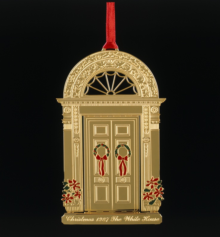 62 Best White House Christmas Ornaments Images On
