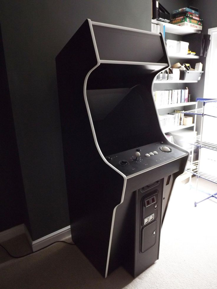 New Stand Up Arcade Cabinet Plans