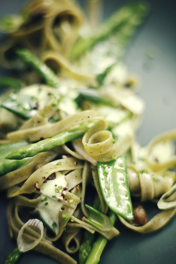 Spring Green Pasta  #twoyoungfoodies