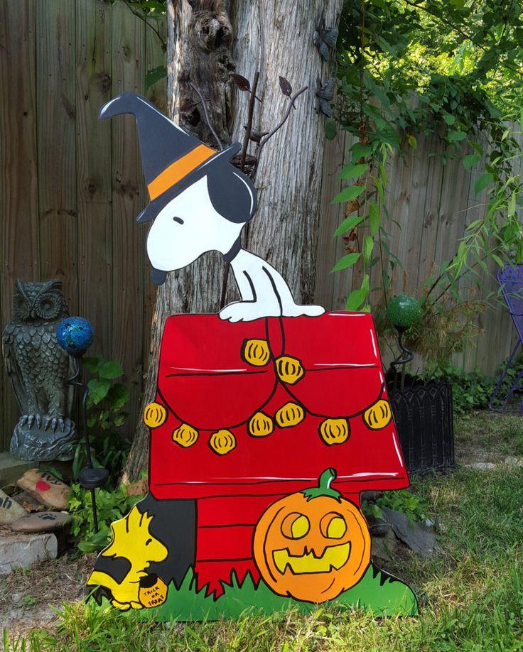 Snoopy Dog House Halloween by HashtagArtz on Etsy