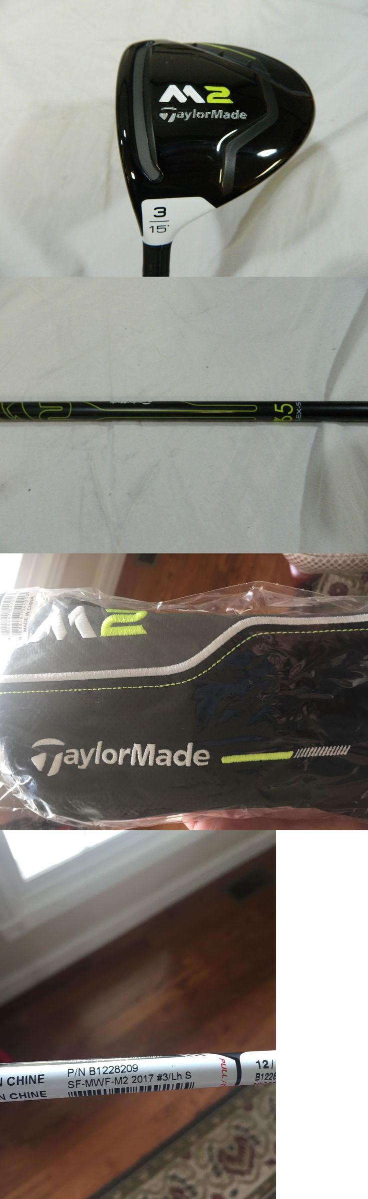 Golf Clubs 115280: New!!! Lh 2017 Taylormade M2 15* 3 Fairway Wood Reax 65 Stiff Flex Free Ship -> BUY IT NOW ONLY: $149.99 on eBay!