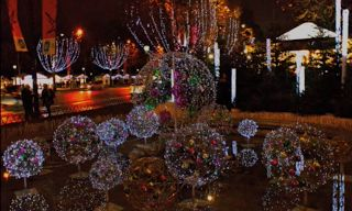 Parques del mundo se visten de Navidad