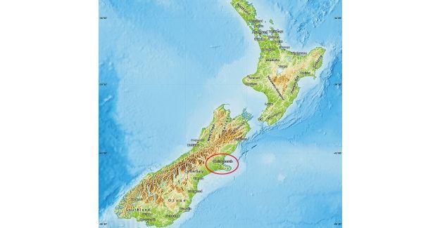 Yeni Zelanda Christchurch'da şiddetli deprem