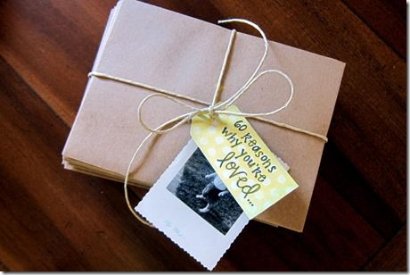 60 Reasons Why You're Loved :: Great sentimental gift idea for parents or anyone.