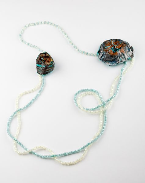"""""""Blatancy"""" Necklace (Stainless steel, plastic, acrylic)"""