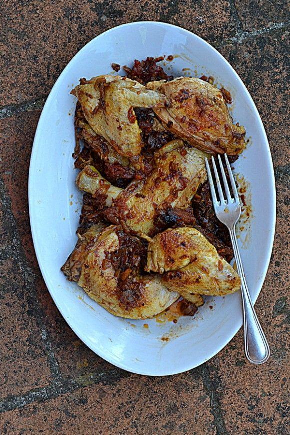 Toskański kurczak po myśliwsku