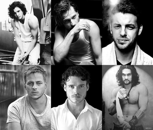Game of Thrones Men. Oops, forgot to breathe for a second there and almost passed out ;)