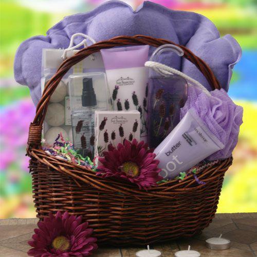 Purple Gift Baskets Spa Amp Pamper Gift Baskets Pamper Me