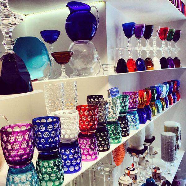 Mario Luca Giusti glassware   #TableWare #Table #MarioLucaGiusti #Italian #ItalianLuxury #Sydney #DoubleBay #Australia #InteriorDesign #Fashion #Decor #Home