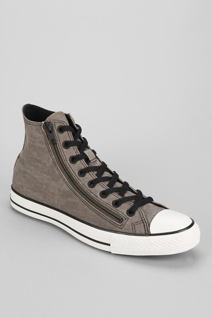 Converse Chuck Taylor All Star Double-Zip High-Top Sneaker #urbanoutfitters
