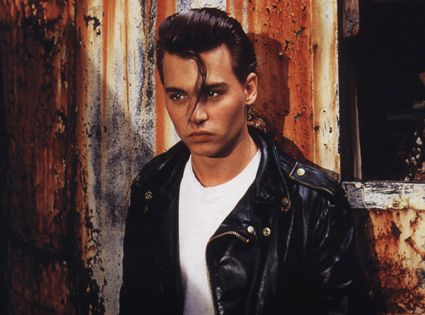 JOHNNY DEPP: MOVIE STAR! CRY-BABY Johnny Depp has been a lot of things onscreen: a demon barber, a bizarre buccaneer and a dude with very pointy fingers. But whether he's doing a small indie or a Disney blockbuster, Depp has always been a movie star. And so we celebrate his most interesting roles, most memorable movies and most hard to explain costume choices in this gallery of his film (and even some TV, too) work. Universal Pictures
