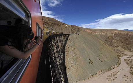 Michelle Jana Chan explores Argentina's high Andes on one of South America's   great rail journeys.