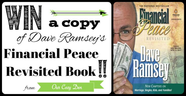 Win a copy of Dave Ramsey's Financial Peace Revisited!