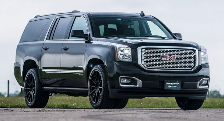 Hennessey 650 HP GMC Yukon Denali! Get ready for another masterpiece from Hennessey Performance. This time, the tuner has set his eyes on 2015-2016 GMC Yukon Denali, so if you own one, you should start saving money for this kit. The kit upgrades the cars with a 6.2 liter V8 engine. HPE650 makes the 420 hp unit produce 650 hp,...